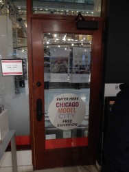 The Chicago Architecture Foundation build and maintains a scale model ot the city of Chicago.