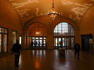 Exiting Grand Central