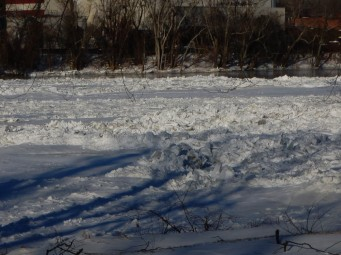 There's a river flowing under that ice.