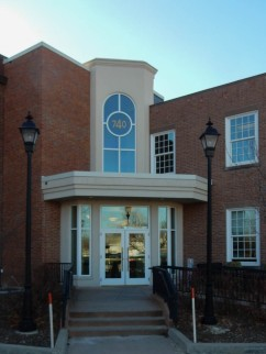 New entrance to East Hartford Town Hall
