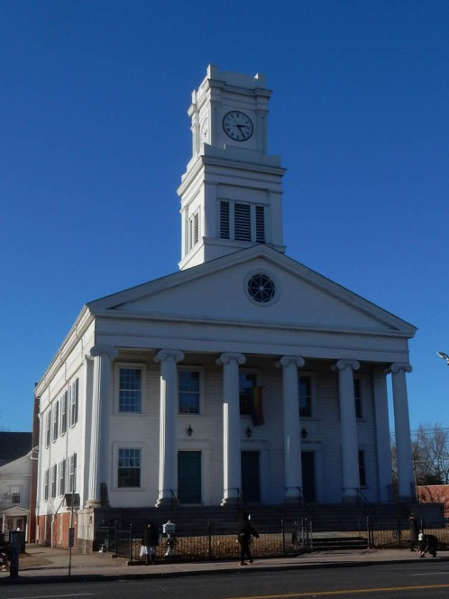 First Congregational Church today.