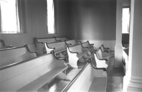 Inside the First Congregational Church
