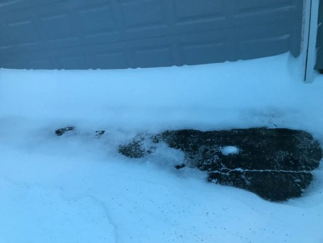 From bare spots to 4' drifts.