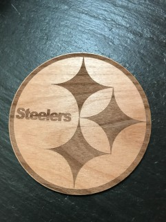 Even owning a newly etched Steelers logo couldn't help them win yesterday.