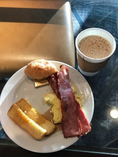 Not the best breakfast but it was tasty and free.