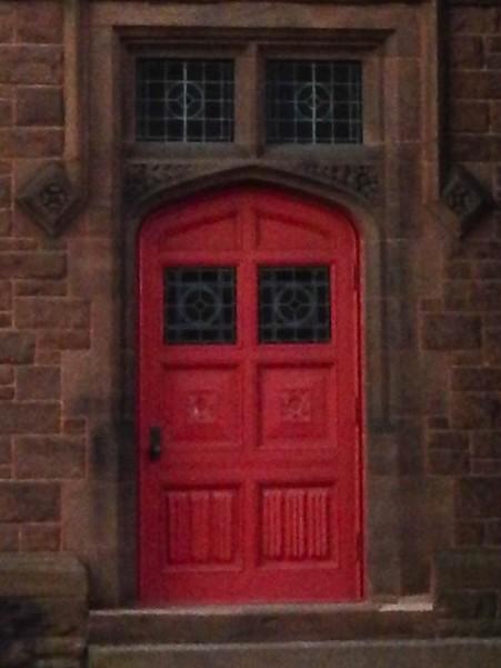 Parish House entrance