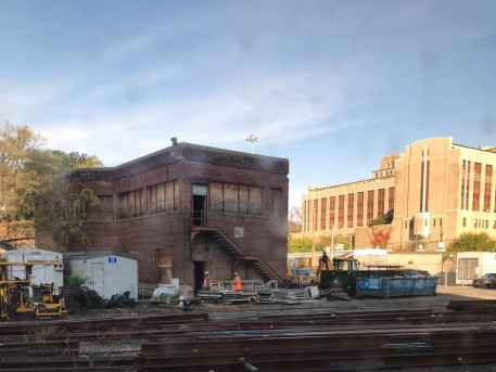 As seen from Metro North. It uses the same tracks as AMTRAK, but AMTRAK goes to Penn Station. Metro North goes to Grand Central
