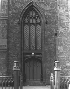 Side door - From NRHP Nomination
