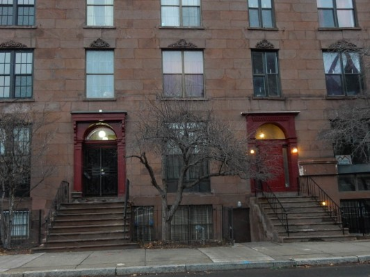 An older apartment building in the south end.