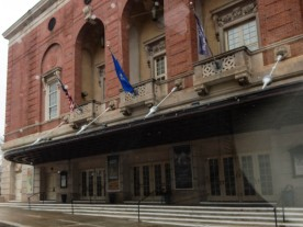 The Bushnell Theater main entrance.