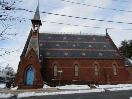South side of St. John's Episcopal Church