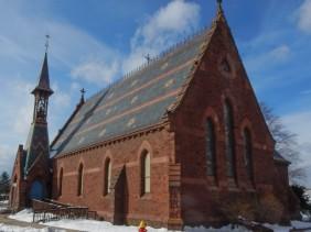 St. John's Episcopal Church from the southwest corner.