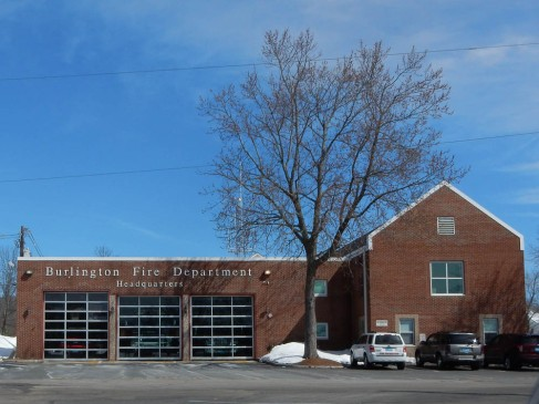 Burlington Fire Department.