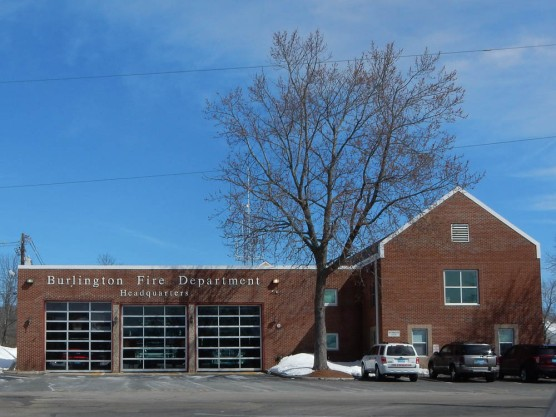 Burlington Fire Department.