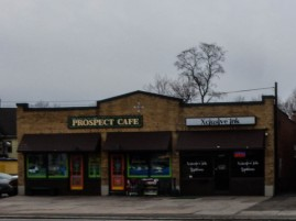 The Prospect Cafe - Looks like a good place for a quick bite and a beverage.