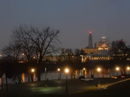 I'm starting to see some daylight at Great River Park - that's a welcome sign.