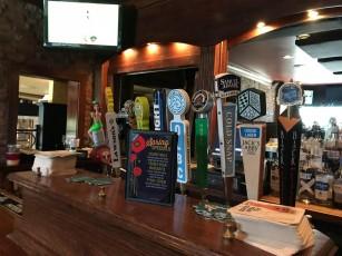 Home sweet Cheryl's bar. The Naughty Nurse is on the far end.