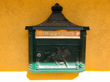 Neat little letterbox.