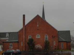 St. Mary's - Windsor Locks, CT, from the back