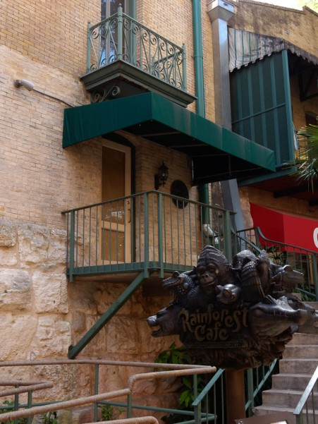 I love the balconies.