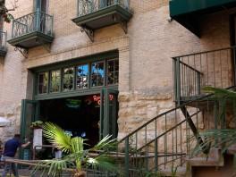 More folding doors with balconies.