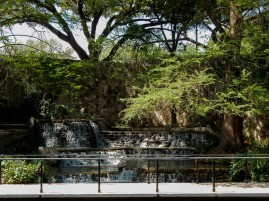 Another waterfall on the River Walk