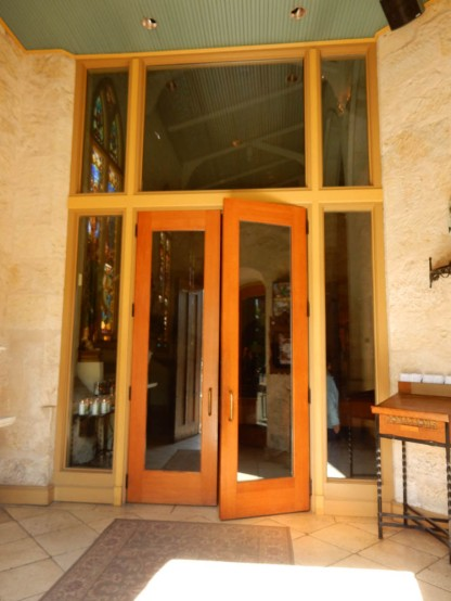 Inside doors from the Nave to the Narthex.