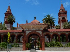 Flagler College - I'm sorry, I couldn't help but be reminded of Faber College from Animal House.