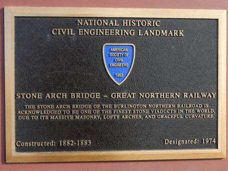 This designation is on the actual bridge.