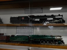 Some magnificent models are on display throughout the museum.