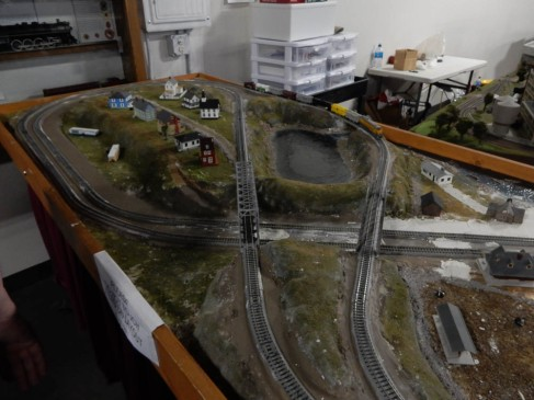 Some of the layouts are simpler - they let children visiting the museum, work on these layouts and run the trains.