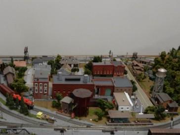 Miniature towns.