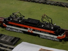 I was surprised to see this model. This is my favorite train.