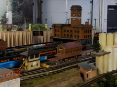 That's the original Milwaukee Road Depot. They have a replica of the train shed, but it hasn't been installed yet, but you can see the trains where they would have been housed.