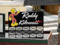 I know it's not a door, but I used to love Reddy Kilowatt