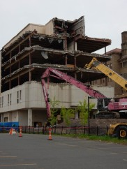 """The article said the State was """"Renovating"""" this building."""
