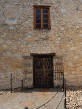 Gates, doors and windows. Beautiful workmanship, especially considering the period.