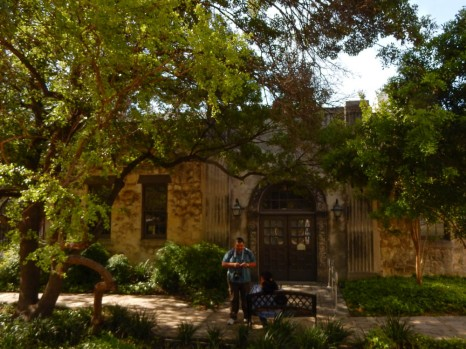Fortress Alamo - this was home to some museum space displaying numerous artifacts.