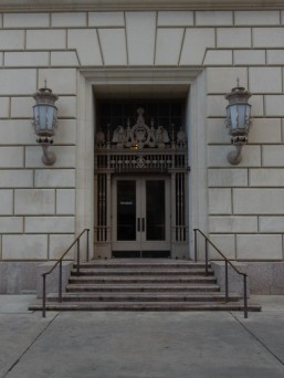 Including this for Joey. Side entrance to the Post Office and Courthouse.