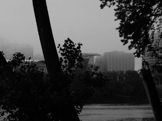 Hartford is trying to escape the fog.