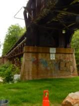 I like bridges and railroad trestles.