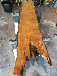 This is the slab I purchased. I was optimistic that I could salvage some of the rotted area.