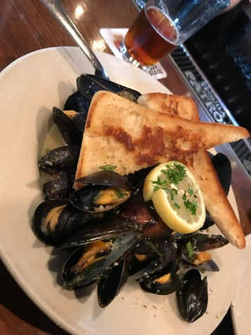 This bar serves the best mussels I've ever had.