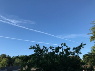 Contrail perspective.
