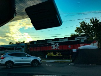 The best locomotive in the fleet is pulling the Hartford Line.