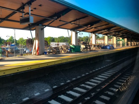 Construction is still underway at the new Berlin station.