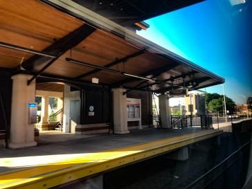 Meriden station.
