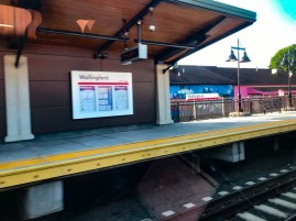 The Wallingford station (just north od New Haven) has been upgraded.