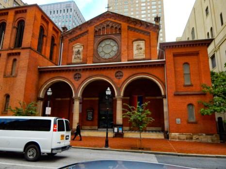 Old St. Paul's Episcopal church.