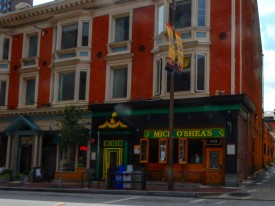 When the bartender at the B&O Restaurant informed me that they were not serving food, he recommended two alternatives. I decided to eat at Mick O'Shea's it was quite good.